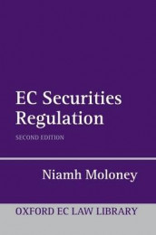 EC Securities Regulation av Niamh Moloney (Innbundet)