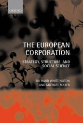 The European Corporation av Michael Mayer og Richard Whittington (Innbundet)