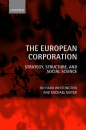 The European Corporation av Michael Mayer og Richard Whittington (Heftet)