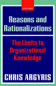 Reasons and Rationalizations av Chris Argyris (Innbundet)