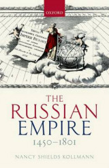 Omslag - The Russian Empire 1450-1801