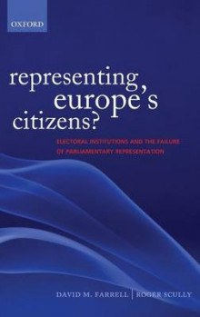 Representing Europe's Citizens? av David M. Farrell og Roger Scully (Innbundet)