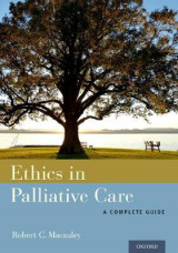 Omslag - Ethics in Palliative Care