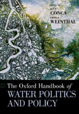 Omslag - The Oxford Handbook of Water Politics and Policy
