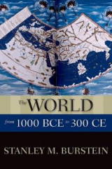 Omslag - The World from 1000 BCE to 300 CE