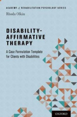 Omslag - Disability-Affirmative Therapy