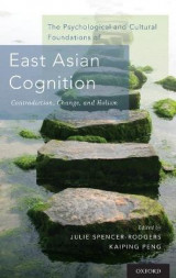 Omslag - The Psychological and Cultural Foundations of East Asian Cognition