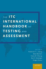 Omslag - The ITC International Handbook of Testing and Assessment