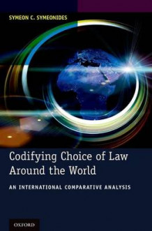 Codifying Choice of Law Around the World av Symeon C. Symeonides (Innbundet)