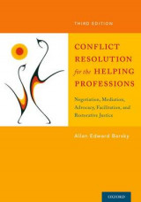 Omslag - Conflict Resolution for the Helping Professions