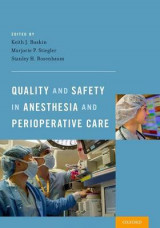 Omslag - Quality and Safety in Anesthesia and Perioperative Care