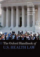 Omslag - The Oxford Handbook of U.S. Health Law