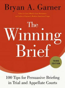 The Winning Brief av Bryan A. Garner (Innbundet)