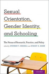 Omslag - Sexual Orientation, Gender Identity, and Schooling