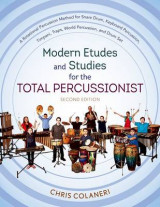 Omslag - Modern Etudes and Studies for the Total Percussionist