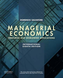 Managerial Economics in a Global Economy av Dominick Salvatore (Heftet)