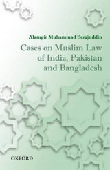 Omslag - Cases on Muslim Law of India, Pakistan, and Bangladesh