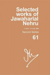 Omslag - Selected Works of Jawaharlal Nehru