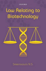 Omslag - Law Relating to Biotechnology