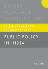 Omslag - Public Policy in India