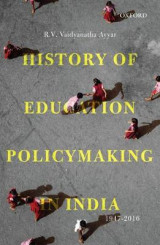 Omslag - History of Education Policymaking in India 1947-2016