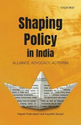 Omslag - Shaping Policy in India