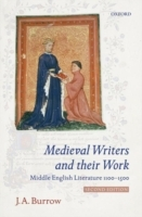 Medieval Writers and their Work av J. A. Burrow (Heftet)