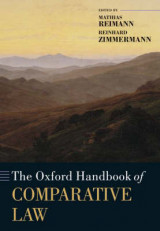 Omslag - The Oxford Handbook of Comparative Law