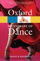 The Oxford Dictionary of Dance av Debra Craine og Judith Mackrell (Heftet)