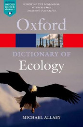 A Dictionary of Ecology av Michael Allaby (Heftet)