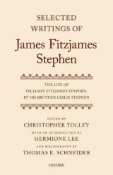 Omslag - Selected Writings of James Fitzjames Stephen