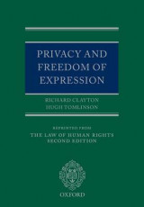 Omslag - Privacy and Freedom of Expression