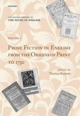 Omslag - The Oxford History of the Novel in English