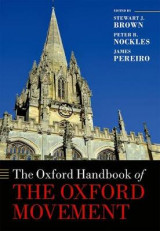 Omslag - The Oxford Handbook of the Oxford Movement