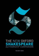 Omslag - The New Oxford Shakespeare: Authorship Companion