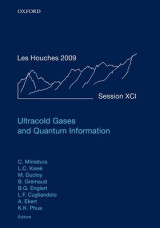 Omslag - Ultracold Gases and Quantum Information: July 2009 Volume 91