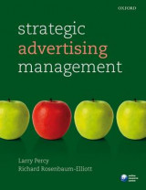 Omslag - Strategic Advertising Management