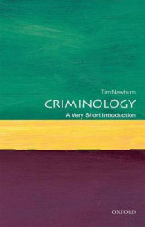 Omslag - Criminology: A Very Short Introduction