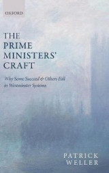 Omslag - The Prime Ministers' Craft