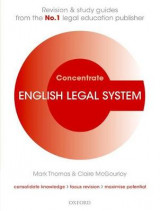 Omslag - English Legal System Concentrate