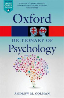 A Dictionary of Psychology av Andrew M. Colman (Heftet)