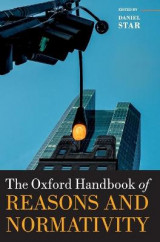 Omslag - The Oxford Handbook of Reasons and Normativity