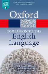 Omslag - Oxford Companion to the English Language