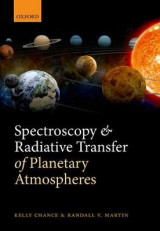 Omslag - Spectroscopy and Radiative Transfer of Planetary Atmospheres