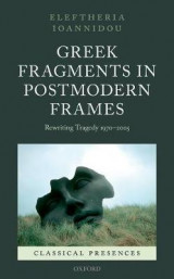 Omslag - Greek Fragments in Postmodern Frames
