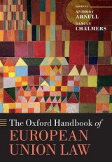 Omslag - The Oxford Handbook of European Union Law