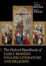 Omslag - The Oxford Handbook of Early Modern English Literature and Religion