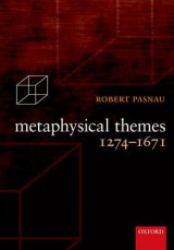 Omslag - Metaphysical Themes 1274-1671