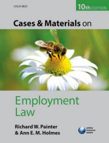 Cases and Materials on Employment Law av Richard Painter og Ann Holmes (Heftet)