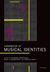 Omslag - Handbook of Musical Identities